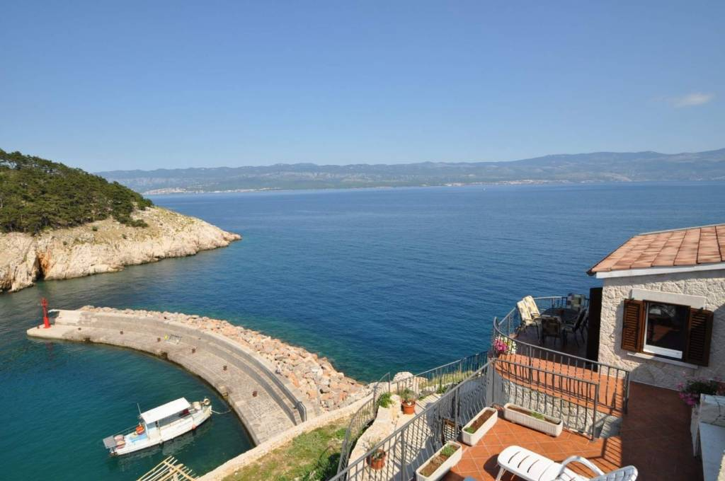 Apartmani Bernardica - on cliffs above sea:, Vrbnik - Otok Krk