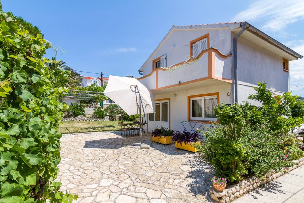 Apartmani Anđeo - 80 m from beach : , Barbat - Otok Rab